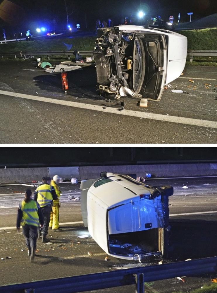 accident sur a6 hier