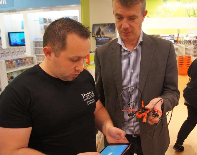 Commander drone camera gps et avis drones parrot