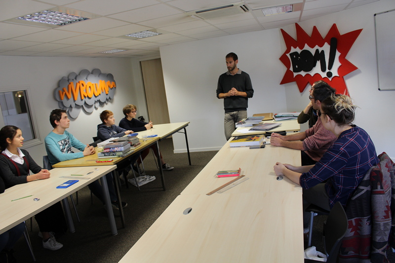Laurent Bonneau atelier BD Mâcon (2).JPG