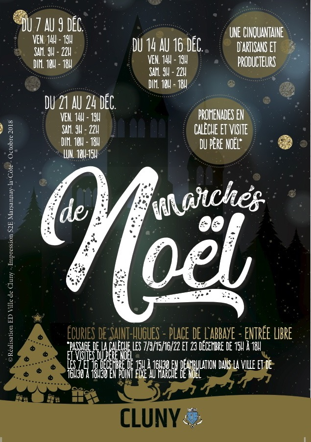 MARCHE NOEL 2018 CLUNY